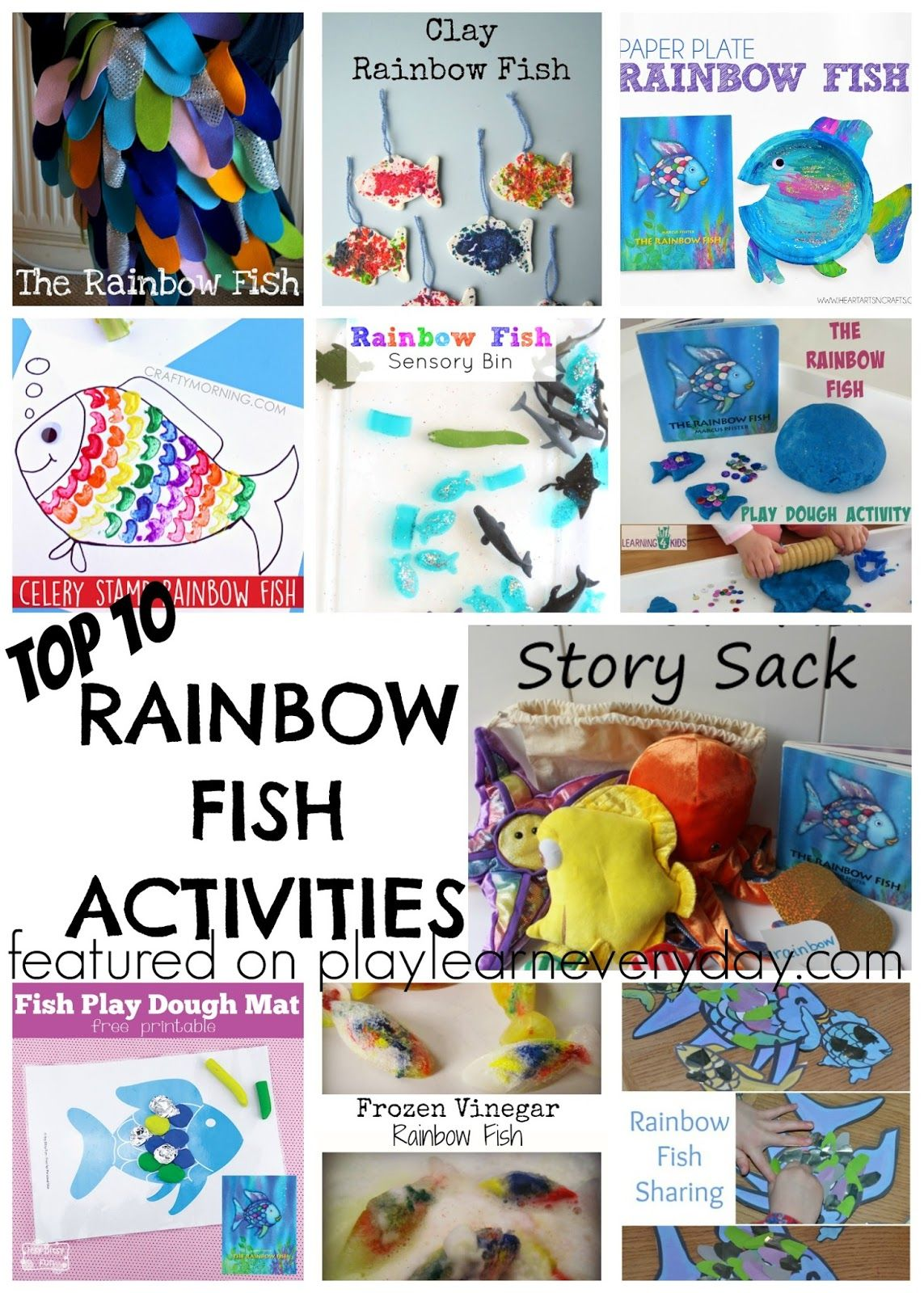 Top Ten Rainbow Fish Activities