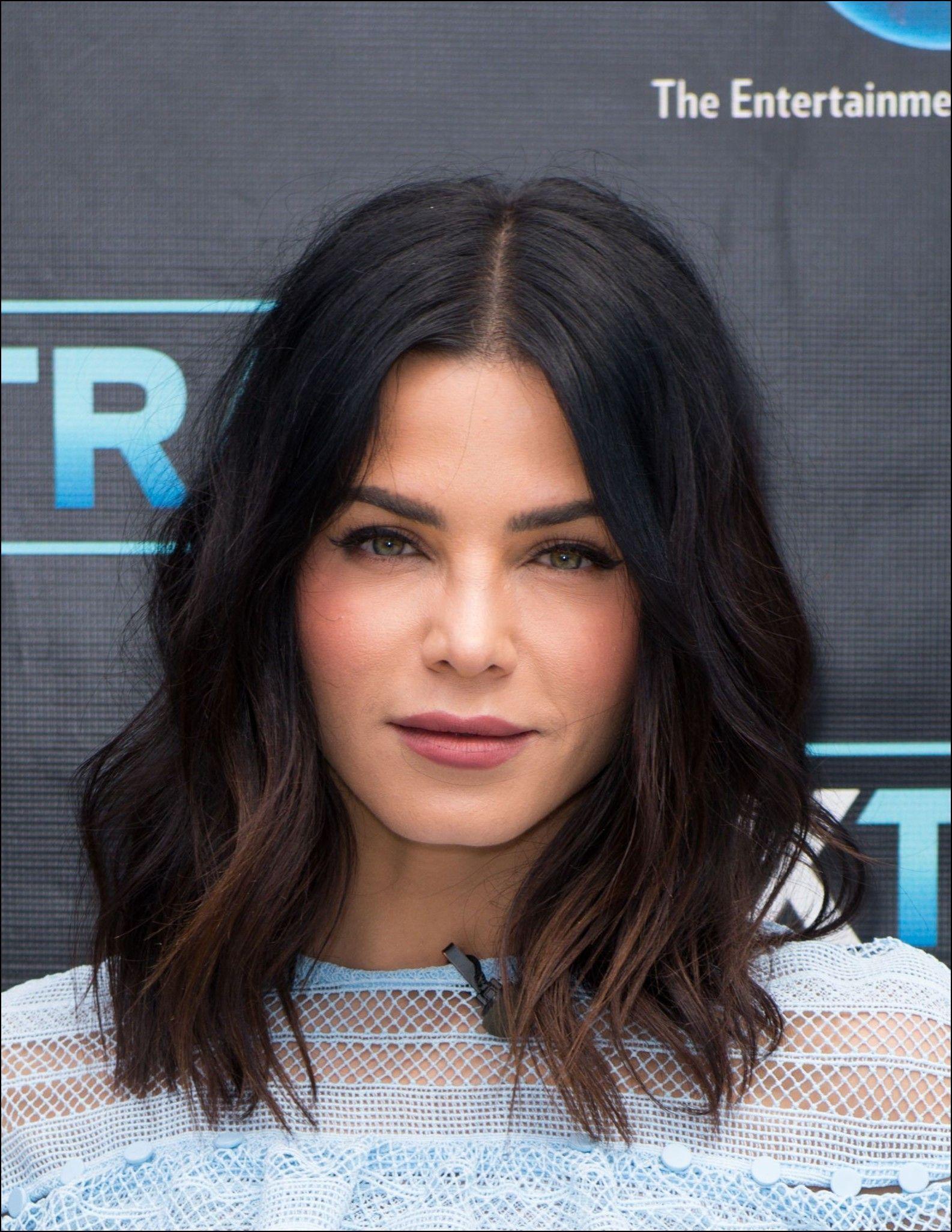 Schöne schwarze mittellange Frisuren - Frisur  Haarschnitt