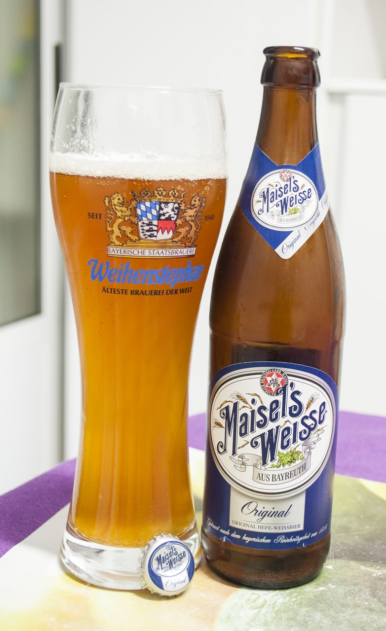 Maisel´s Weisse Original. German Hefeweizen. 5.4º in 2019
