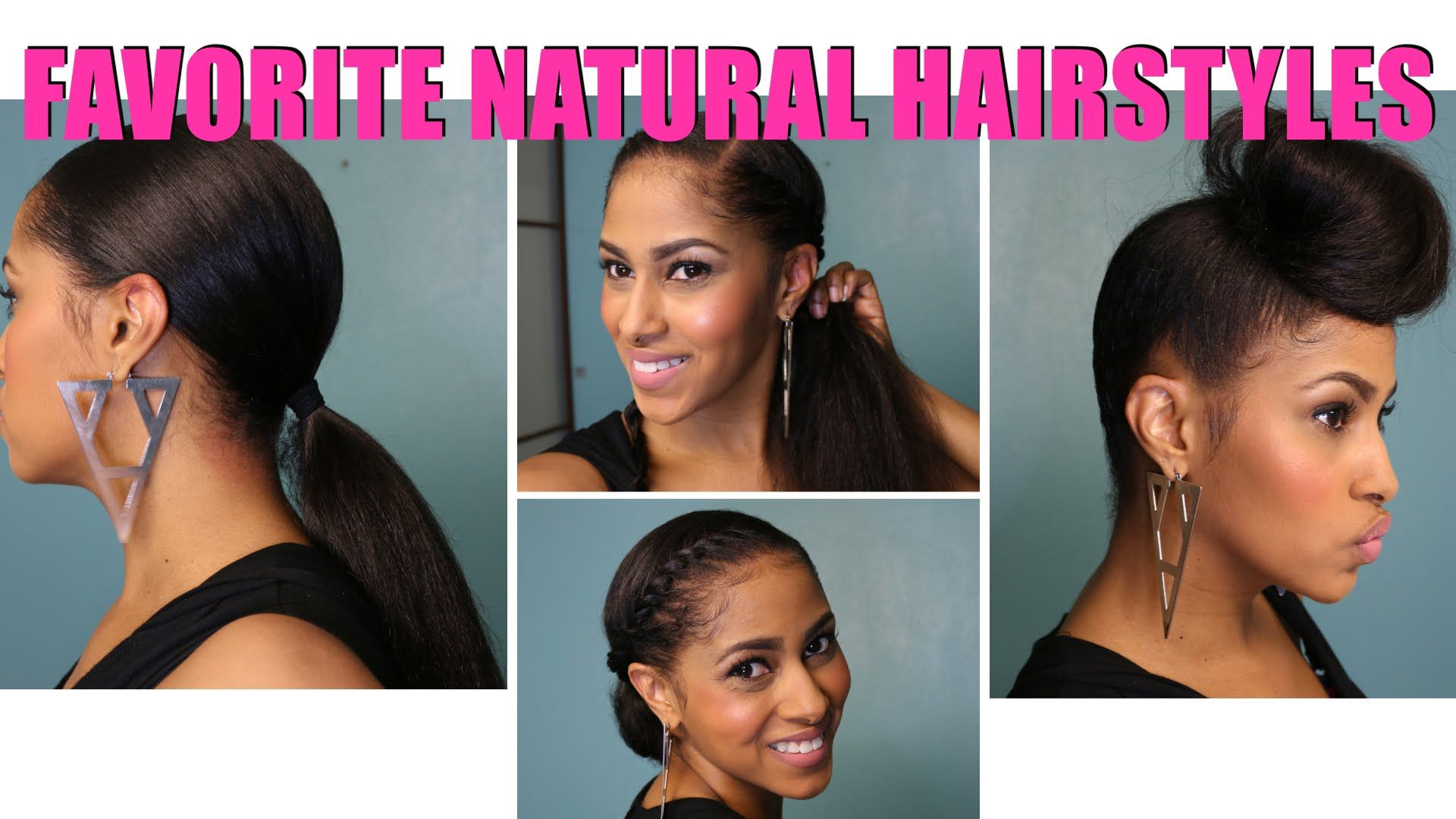 Natural hairstyles tutorial on my favorite natural hairstyles the most awesome how to do natural hairstyles for hair solutioingenieria Choice Image