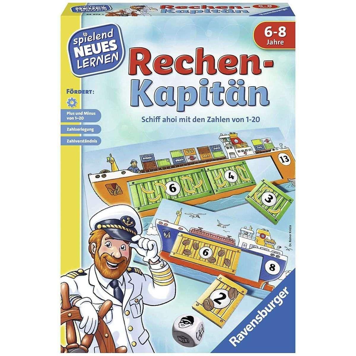Neu Eingetroffen Ravensburger 24972 Rechen Kapitan Spielend Neues Lernen Lernspiel Ab 6 Jahre In 2020 Spiele Lernen Lernspiele
