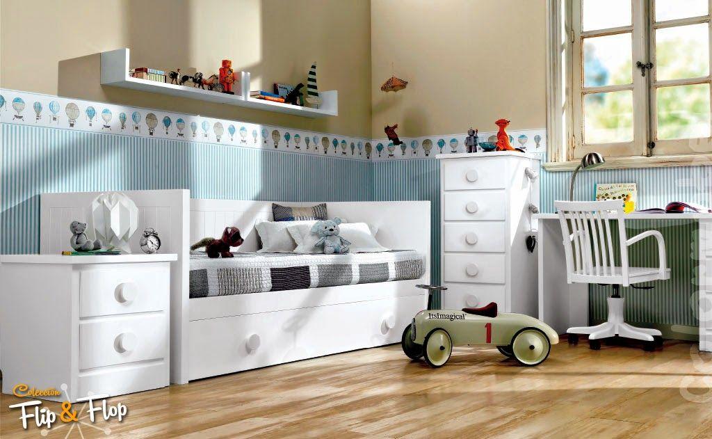 Dormitorios juveniles habitaciones infantiles y mueble - Habitacion nina 2 anos ...