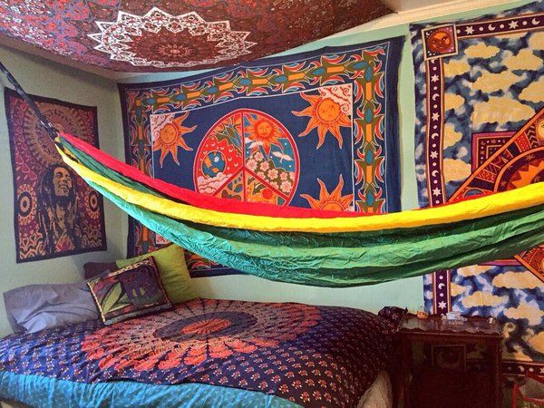 Trippy Rooms Trippyrooms Chill Room Hippy Room Hippie