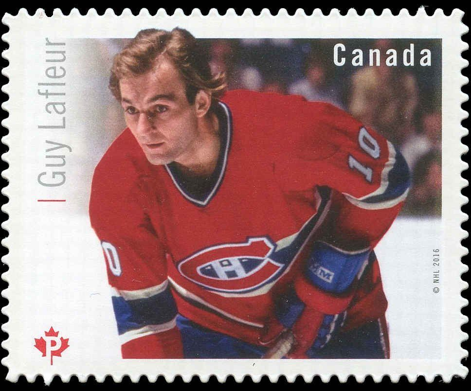 Марка Guy Lafleur (Канада) (NHL® Great Canadian Forwards