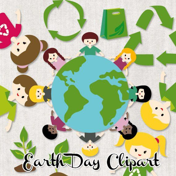 earth day clipart sale