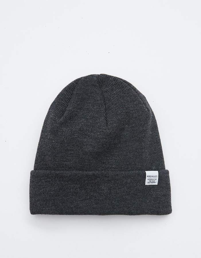 c9971389402 Norse Projects   Norse Top Beanie in Charcoal Melange in 2018 ...