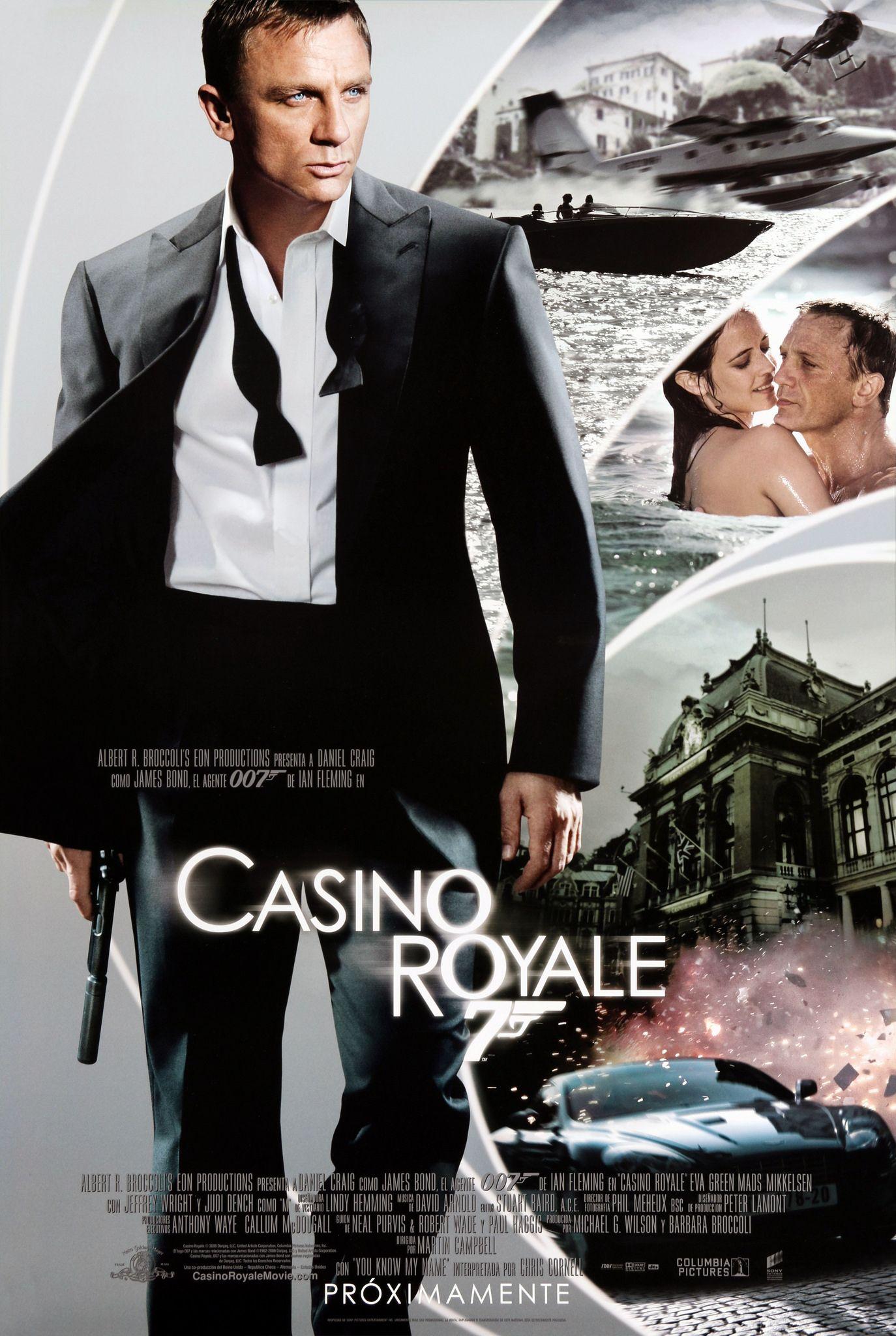 Casino Royale 007 Casino Royale Peliculas De James Bond Daniel Craig James Bond