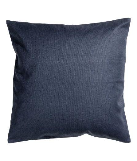 Putetrekk i canvas | Mørk blå | Home | H&M NO
