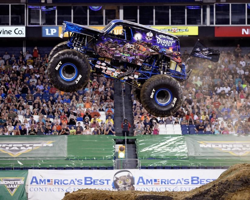 Monster Jam rolls into Phoenix on Saturday, October 6th at