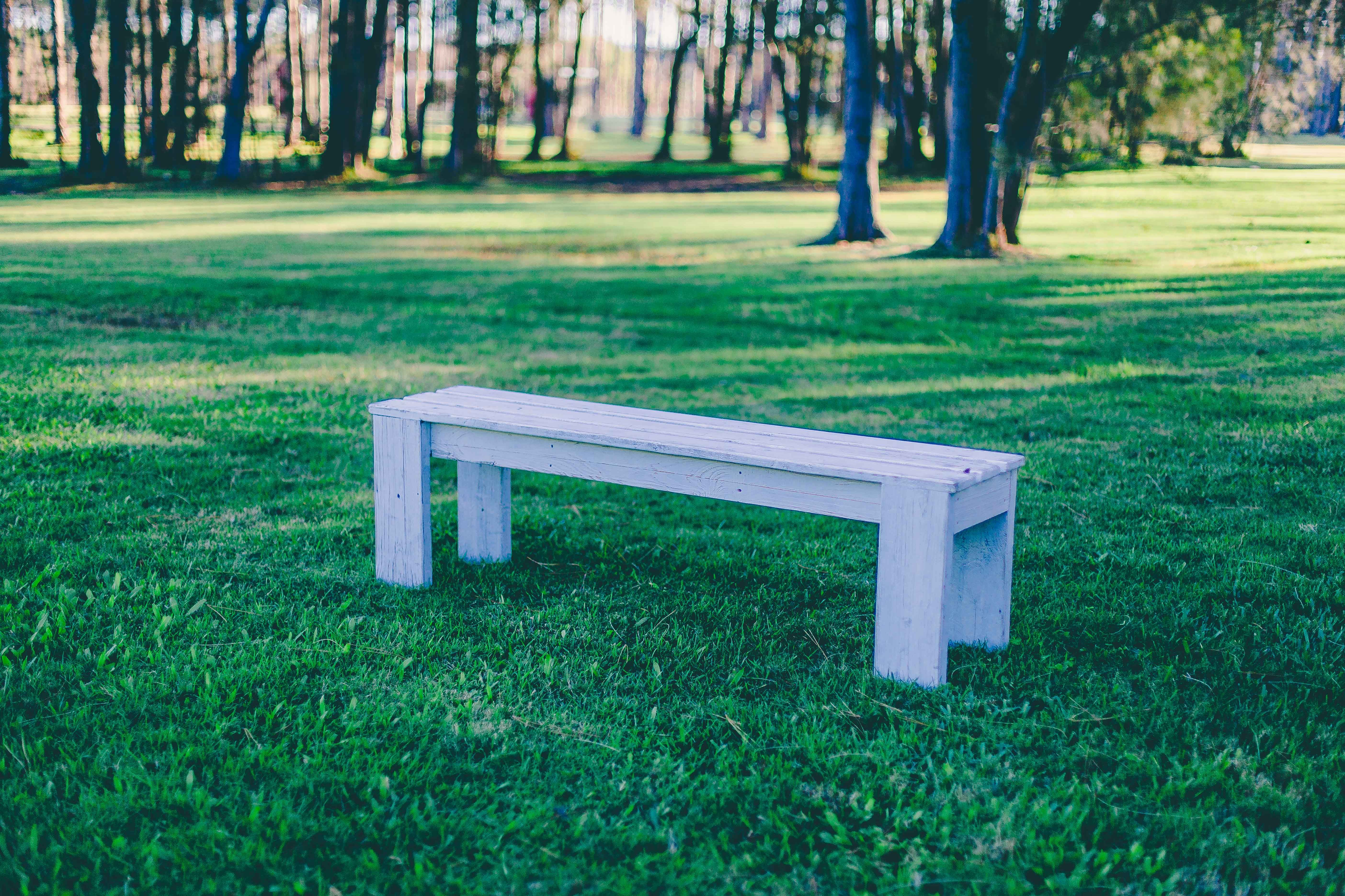 Pleasing White Timber Bench Seats Available For Hire Furniture And Pdpeps Interior Chair Design Pdpepsorg