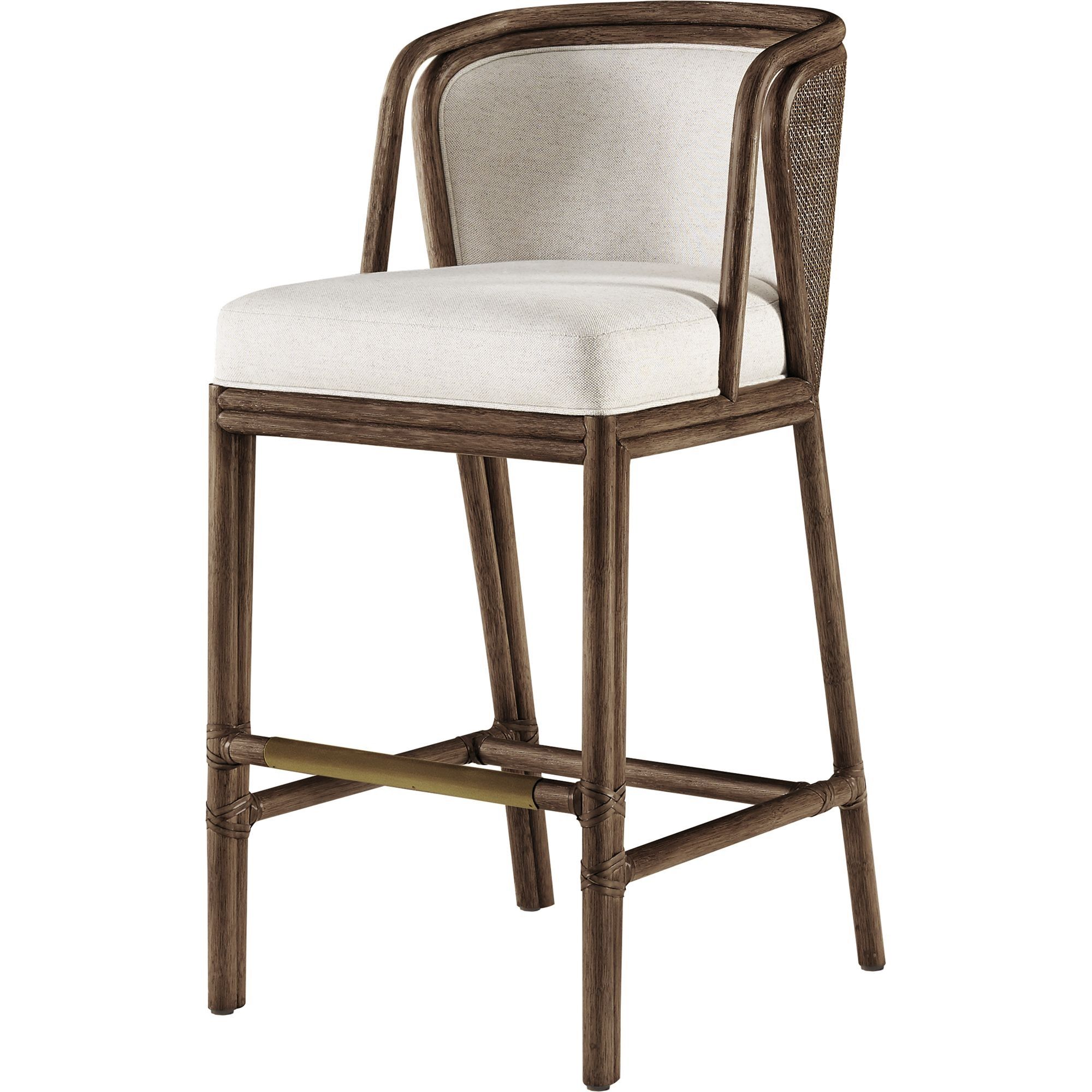 Barbara Barry Ojai Counter Stool By Mcguire Furniture Made To Order Designer From Dering Hall S Collection Of Contemporary Barstools