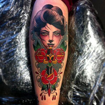 Tattoo done byVicky Morgan