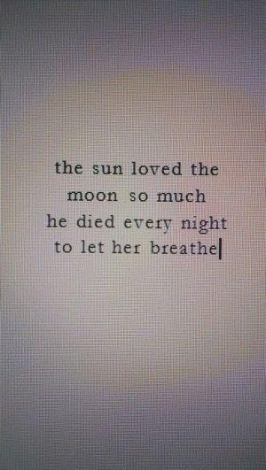 Beautiful sun and moon. Tattoo idea maybe.