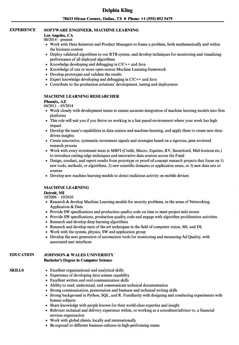 Machine Learning Project Proposal Template Good Resume Examples Project Manager Resume Medical Coder Resume
