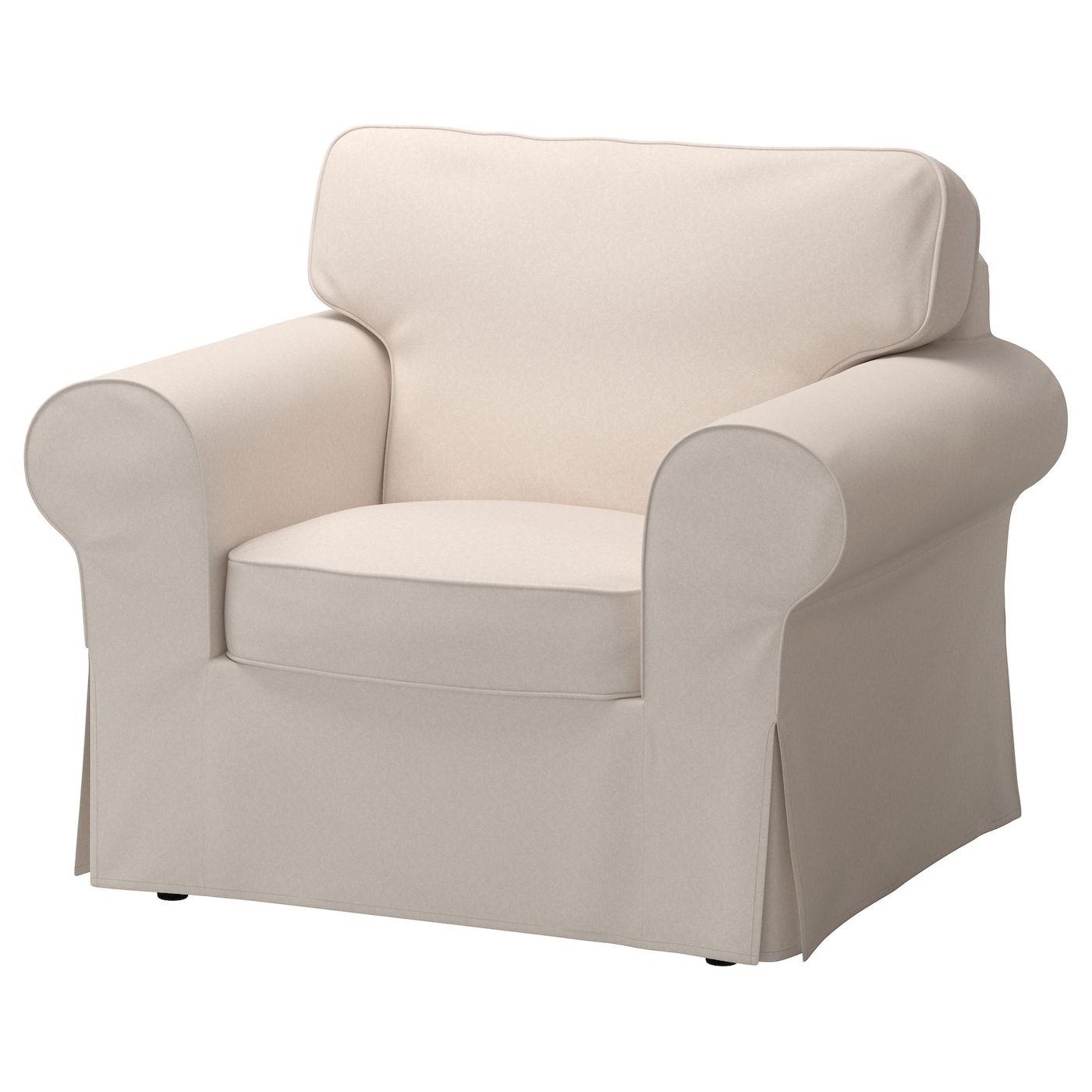 IKEA EKTORP Armchair  Ikea chair cover, Ikea armchair, Slipcovers