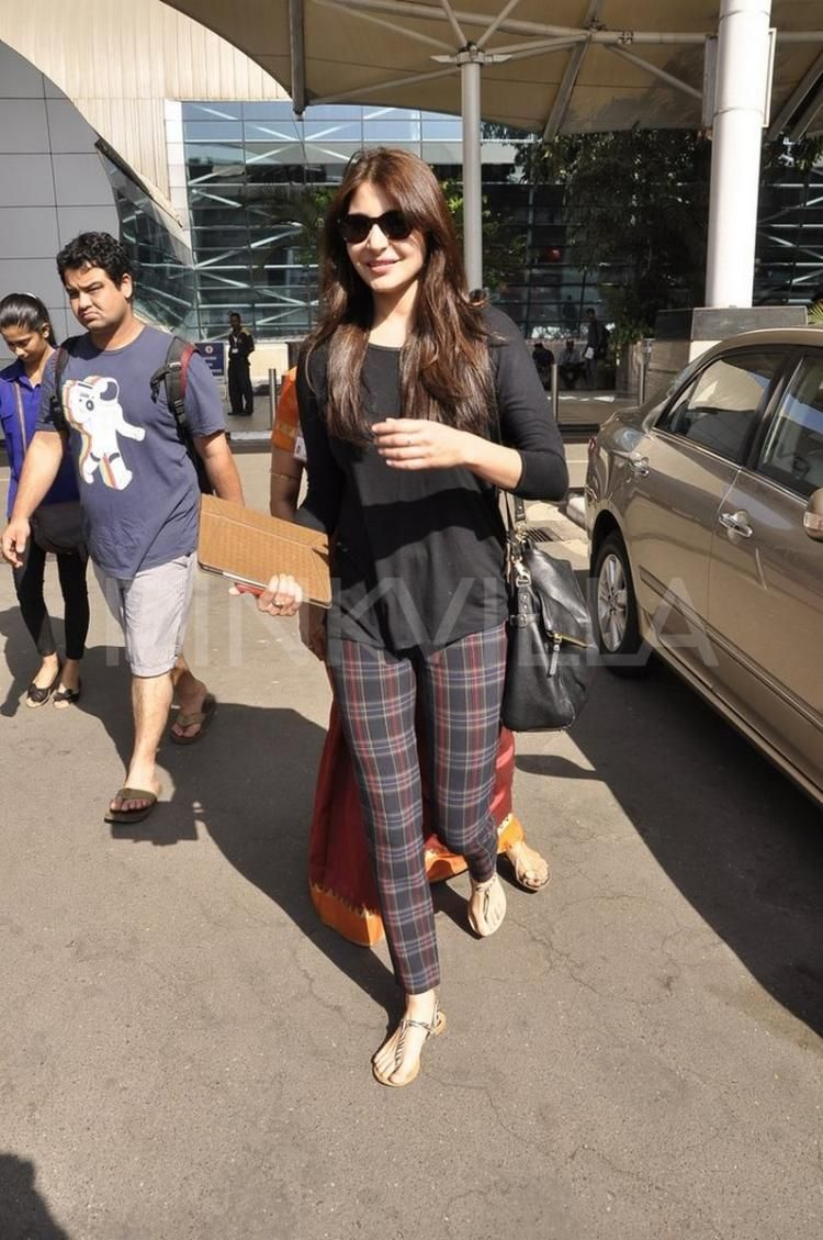 Anushka Sharma returns from Jodhpur