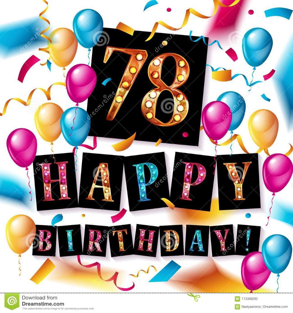 Wonderbaarlijk verjaardag 78 jaar man - Google zoeken (met afbeeldingen NP-64
