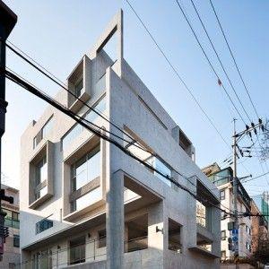 Studio GAON Creates Multiple Frames On Seoul Photography Facade DesignExterior