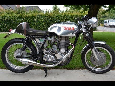 Bsa Gold Star Cafe Racer 500cc Youtube Cafe Racer Motorcycle Cafe Racer Vintage Bikes