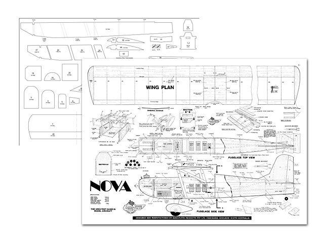 Aeroflyte Nova  Radio Control Sport Parasol Model The NovaKit