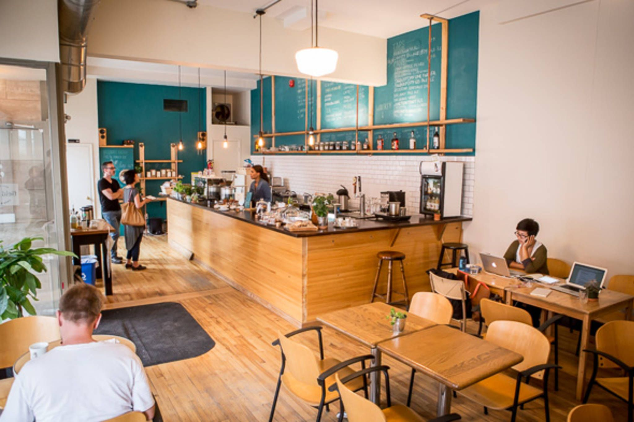 The Top 30 Cafes For Studying In Toronto By Neighbourhood Study Cafe Cafe Interior Brick Cafe