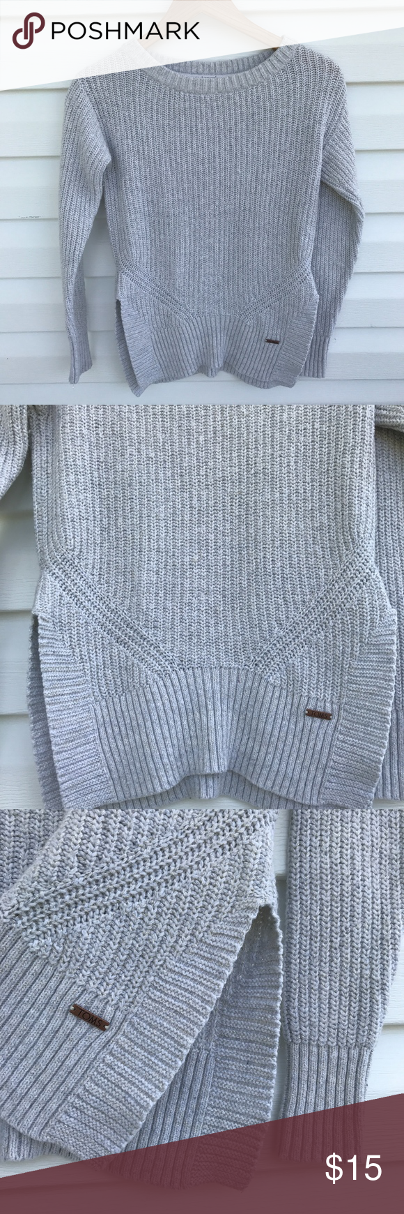 Toms Cable Knit Sweater | Cable knit sweaters, Boat neck and Cable ...