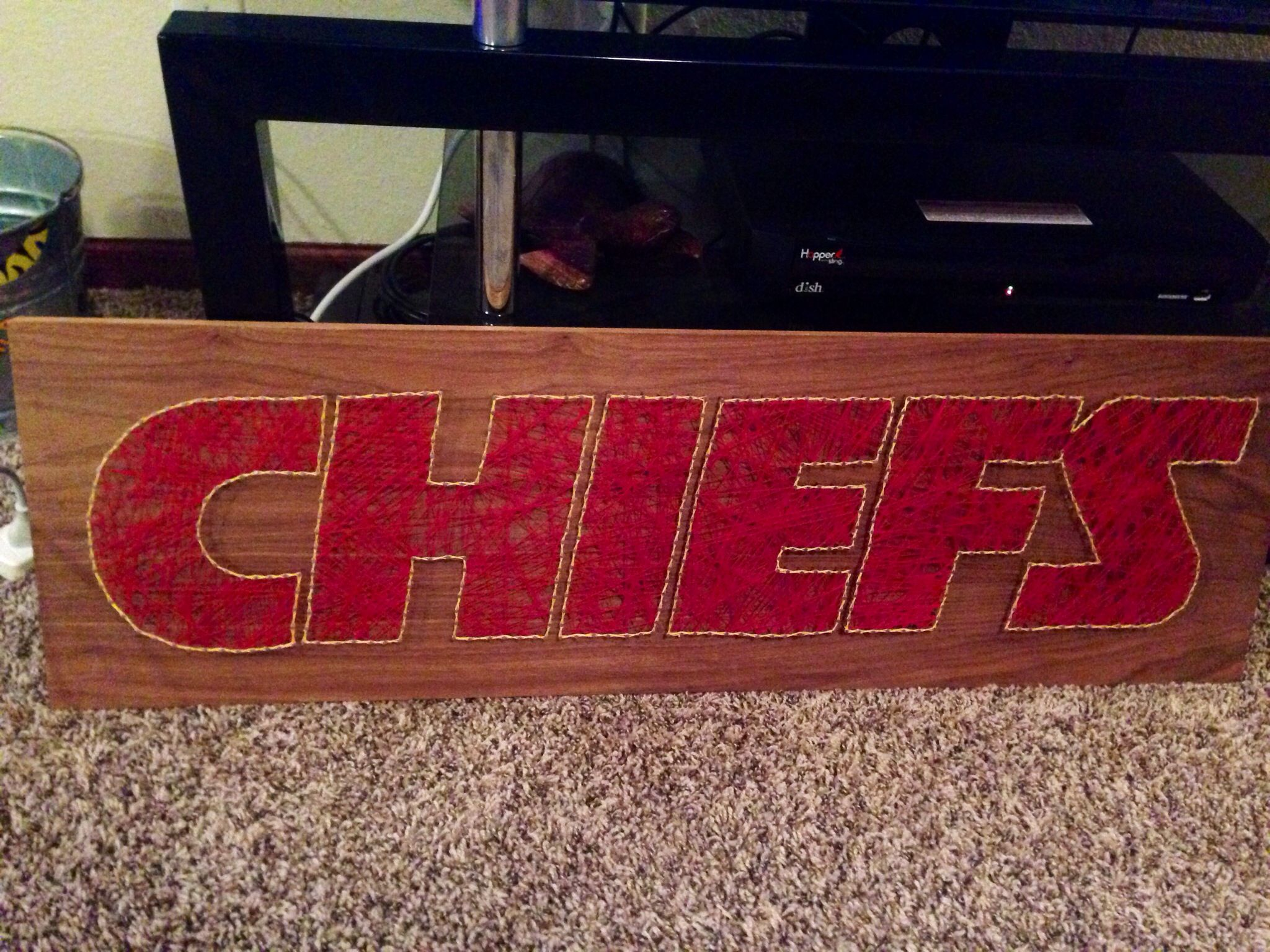 Kc Chiefs String Art