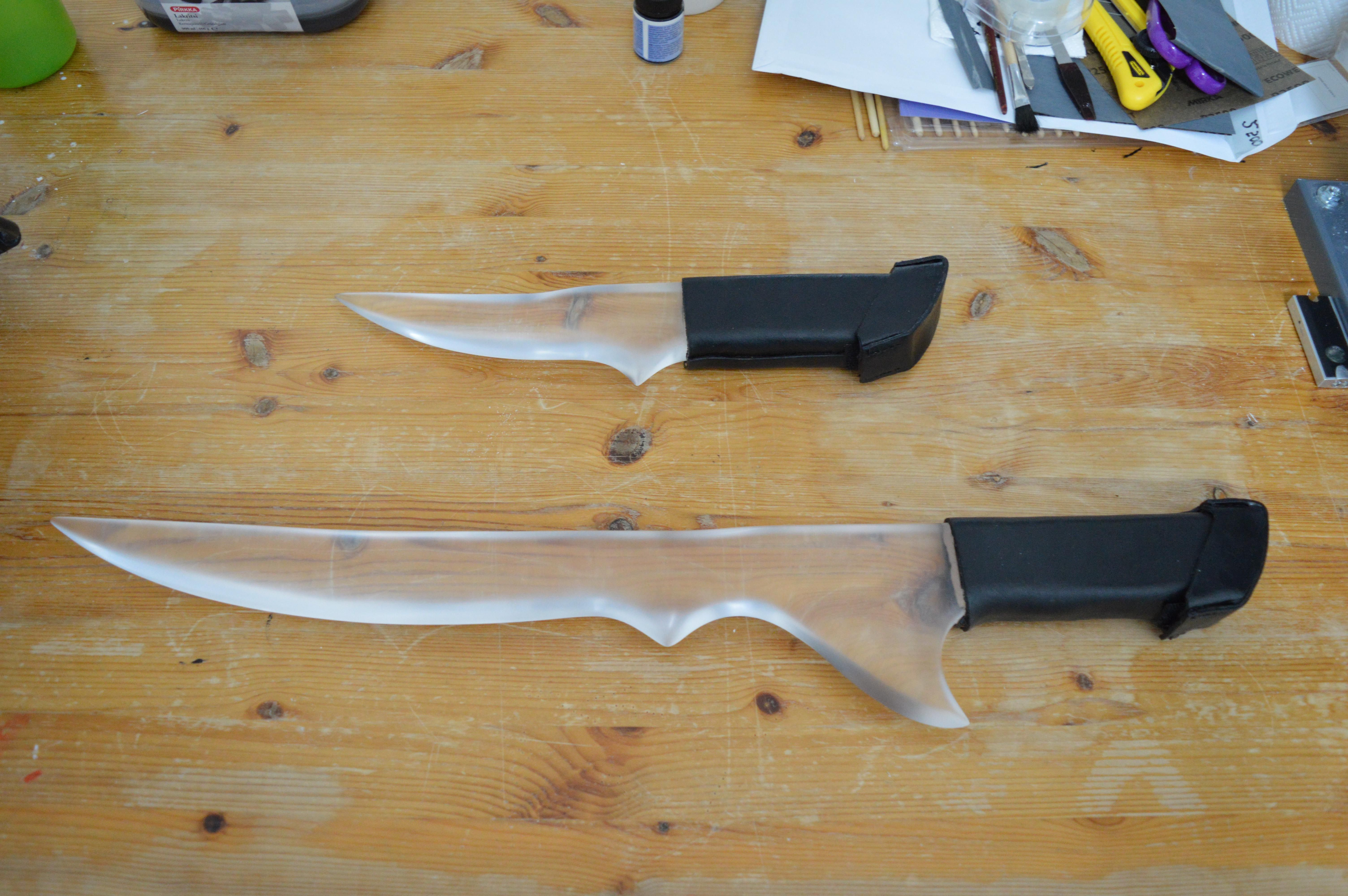 Shadowhunter dagger and sword, Remiel and Ouriel, from ...
