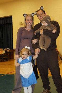 Goldilocks And The Three Bears Costumes Halloween