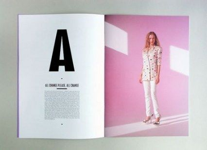 Trendy Fashion Editorial Layout Magazine Typography 32+ Ideas #editoriallayout