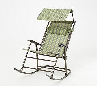 Enjoyable Bliss Hammocks Foldable Rocking Chair With Headrest And Squirreltailoven Fun Painted Chair Ideas Images Squirreltailovenorg