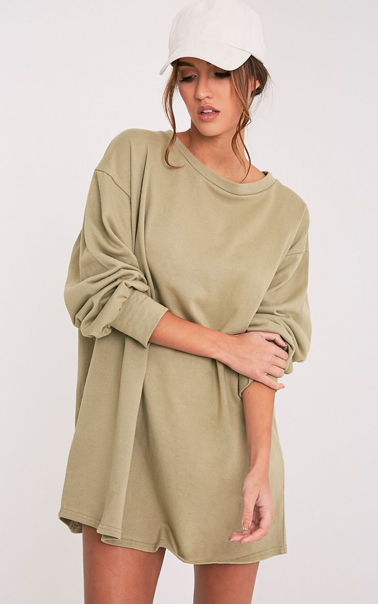 Sianna Sage Green Oversized Sweater Dress Image 5 | Christmas '16 ...