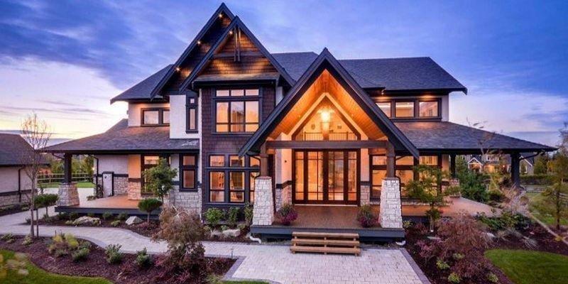 Дом мечты: самые красивые и уютные дома, которые выглядят ...