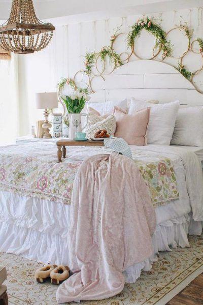 Spring Farmhouse Decor Avec Images Decor Chambre A Coucher