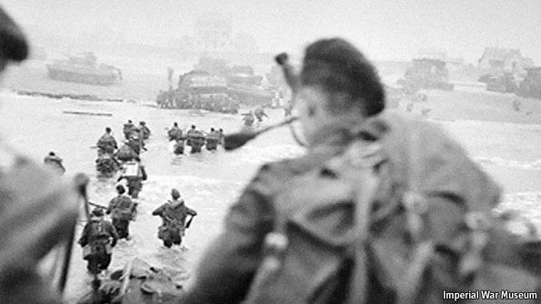 During the Normandy Allied Invasion, a Scottish Piper played his bagpipes walking upright while the carnage erupted. He later asked captured German prisoners why they hadn't shot him. They said they thought he was crazy.