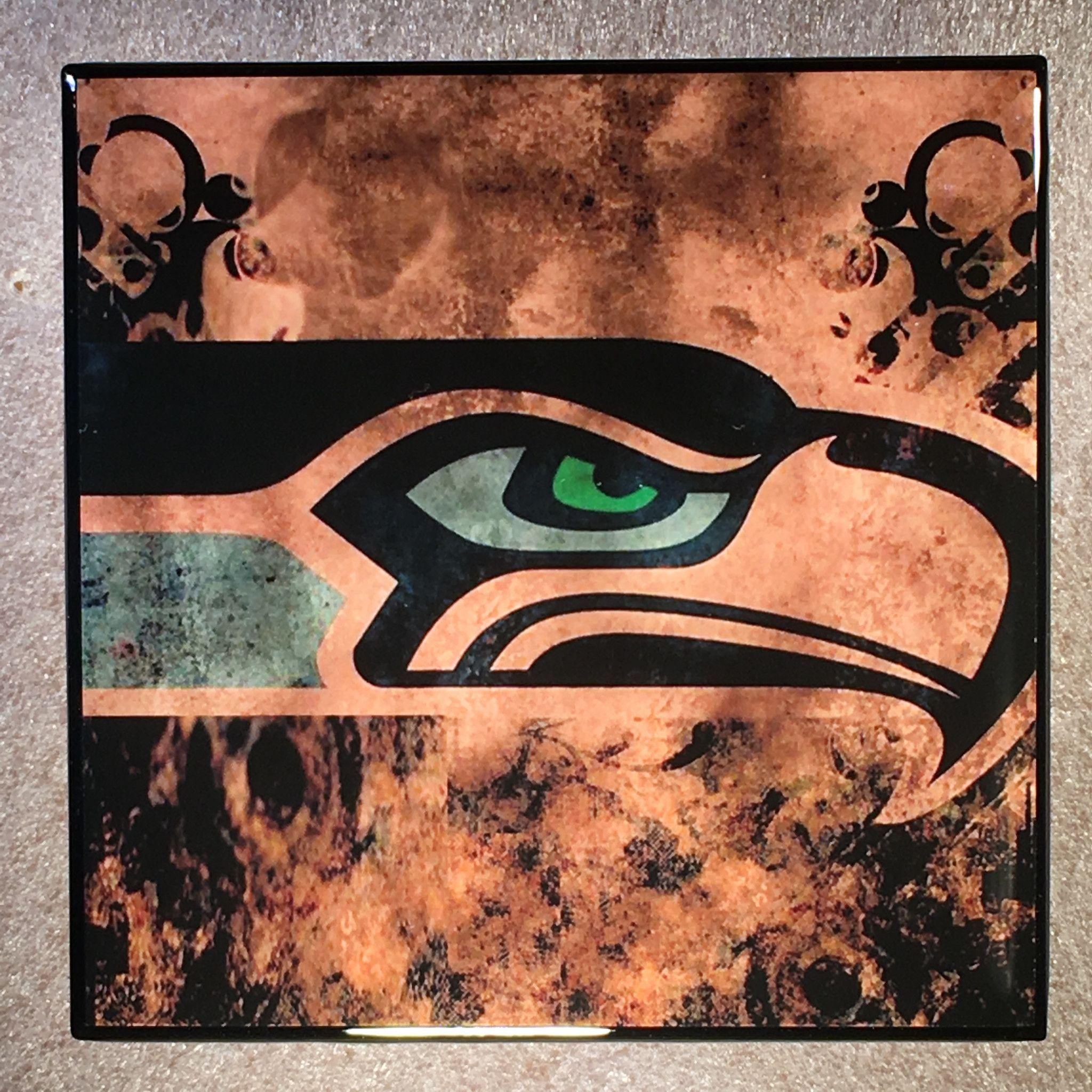 Seattle seahawks coaster nfl ceramic tile football products seattle seahawks coaster nfl ceramic tile football dailygadgetfo Gallery