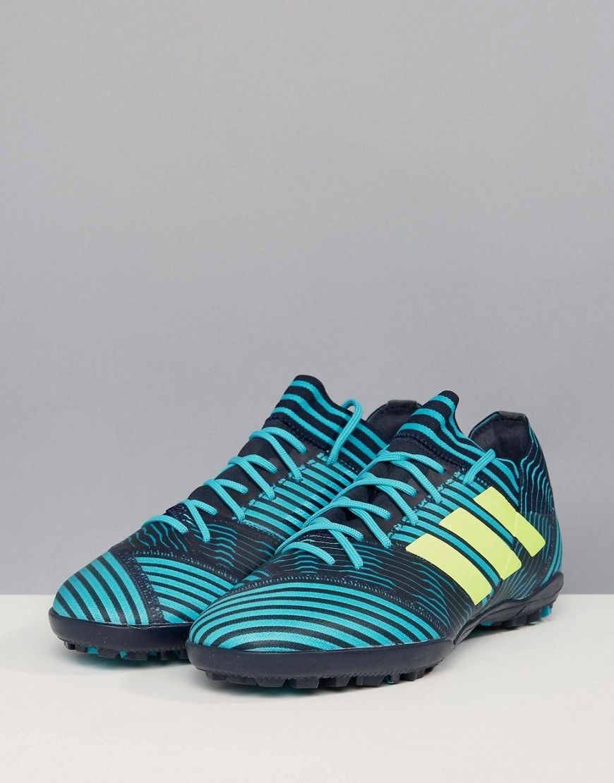 newest 5f4ce 6cfff adidas Soccer Nemeziz Tango 17.3 Astro Turf Sneakers In Navy BY2463 -