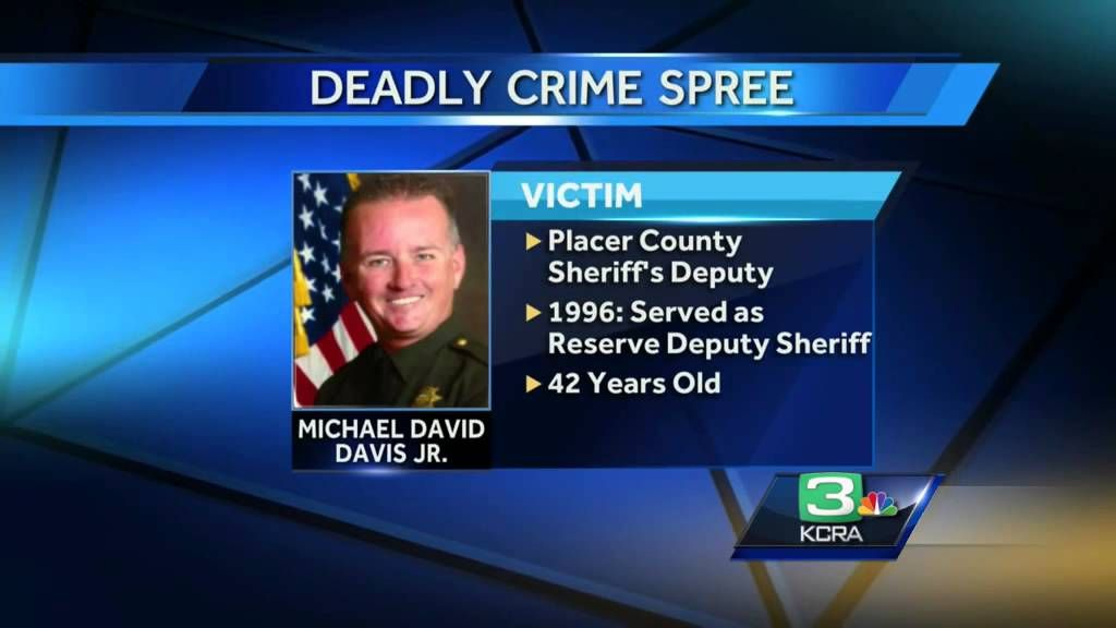 3 deputies shot, 2 killed in Sacramento, Placer counties