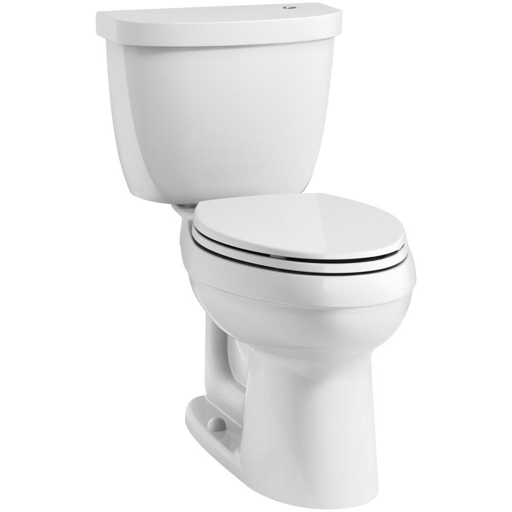 KOHLER Cimarron Touchless Comfort Height Complete Solution 2-Piece ...