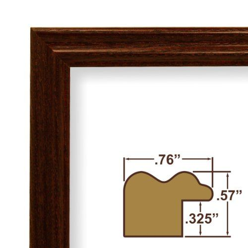 20x27 Picture Frame Poster Frame 75 Wide Complete Cherry Wood Frame 200ashch 18 19 Poster Frame Custom Picture Frame Wood Picture Frames