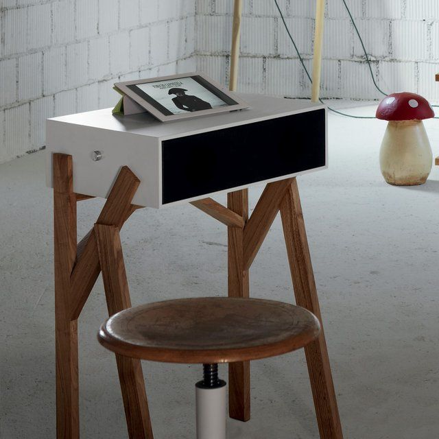 fancy torototela desk with speakers by miniforms small things