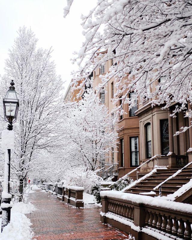 Зима улице картинки
