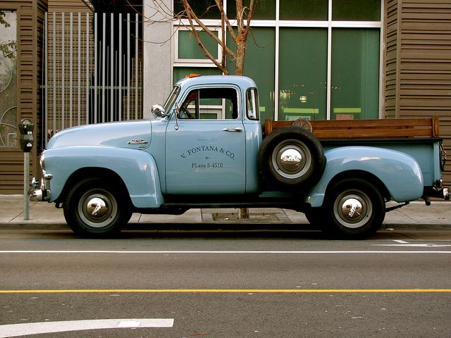 gmc pickup 50 39 s chevy pickup trucks pickup trucks chevy trucks. Black Bedroom Furniture Sets. Home Design Ideas