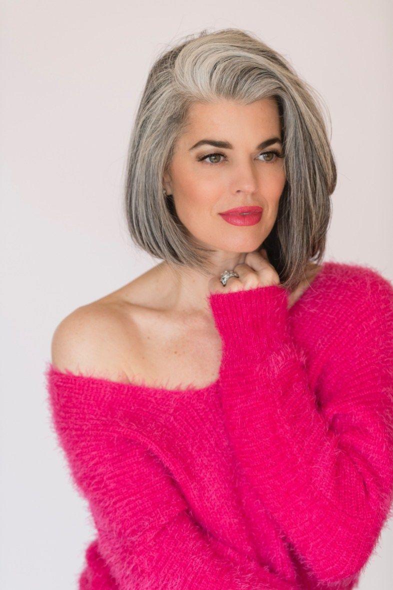 The Best Gray Hair Ideas In 2019 32 Frizurák, Göndör