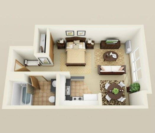 Studio Apartments For Rent In Portland Or Simple Apartments Floor Plans Apartment Layout