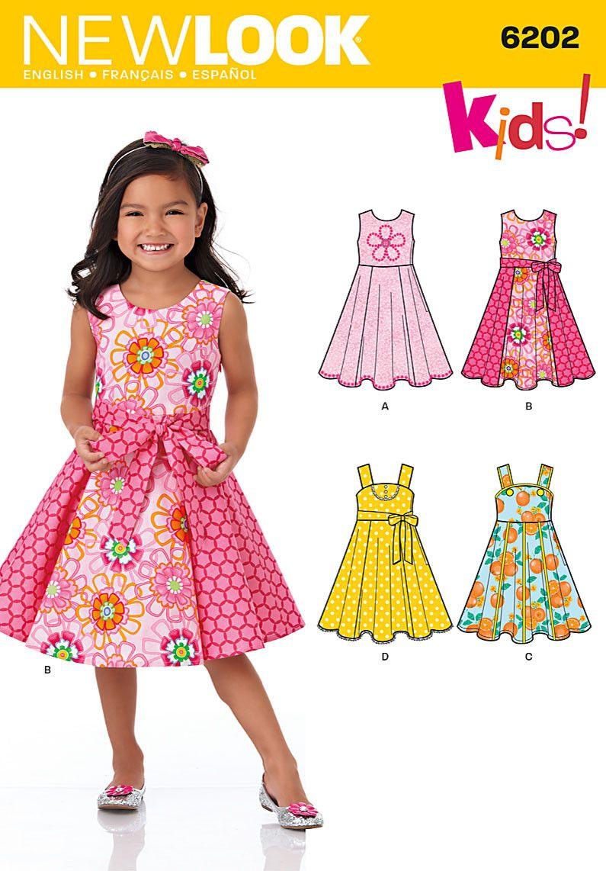 NL6202 Child's Dress & Sash | Sewing | Pinterest | Children s ...