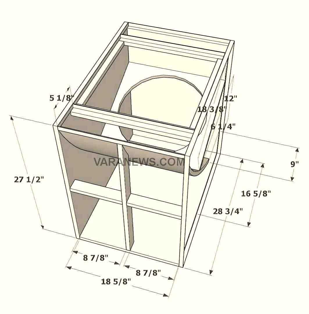 Skema Box Speaker Lapangan Dan Elektronik Terlengkap Elektronik Desain Speaker