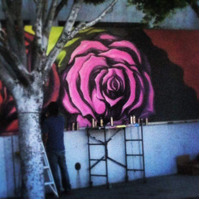 rose graffiti