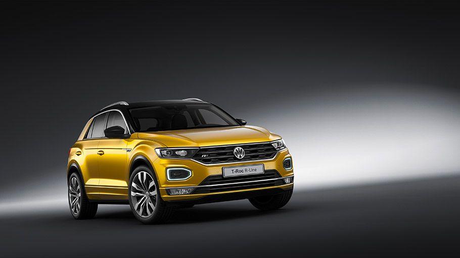Volkswagen Team Reveals New R Line Models Volkswagen Suv Cars Sporty