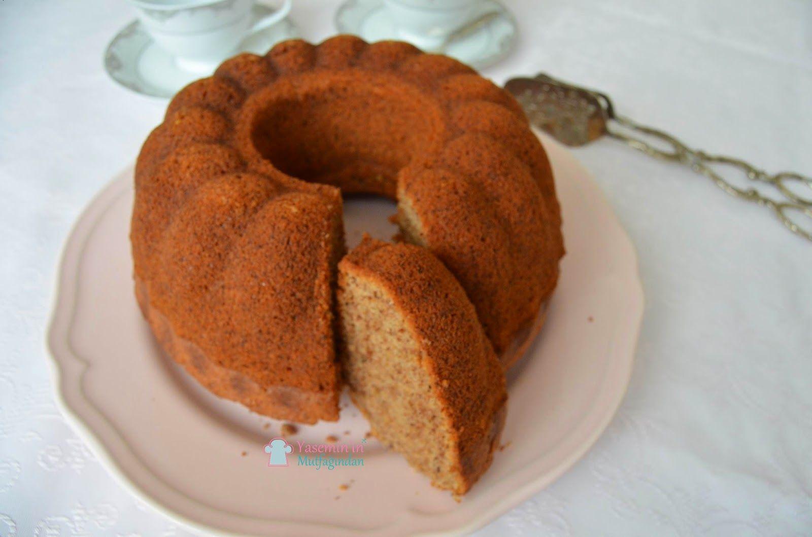 Sodalı Cevizli Portakallı Kek